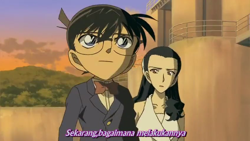 Detective conan season 12 sub indo : Itchy and scratchy