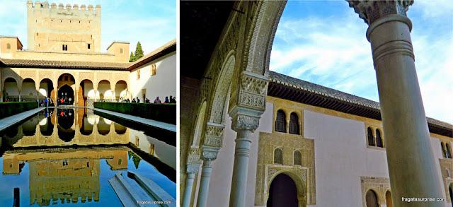 Pátio de Arrayanes, Palácio de Comares, Alhambra de Granada