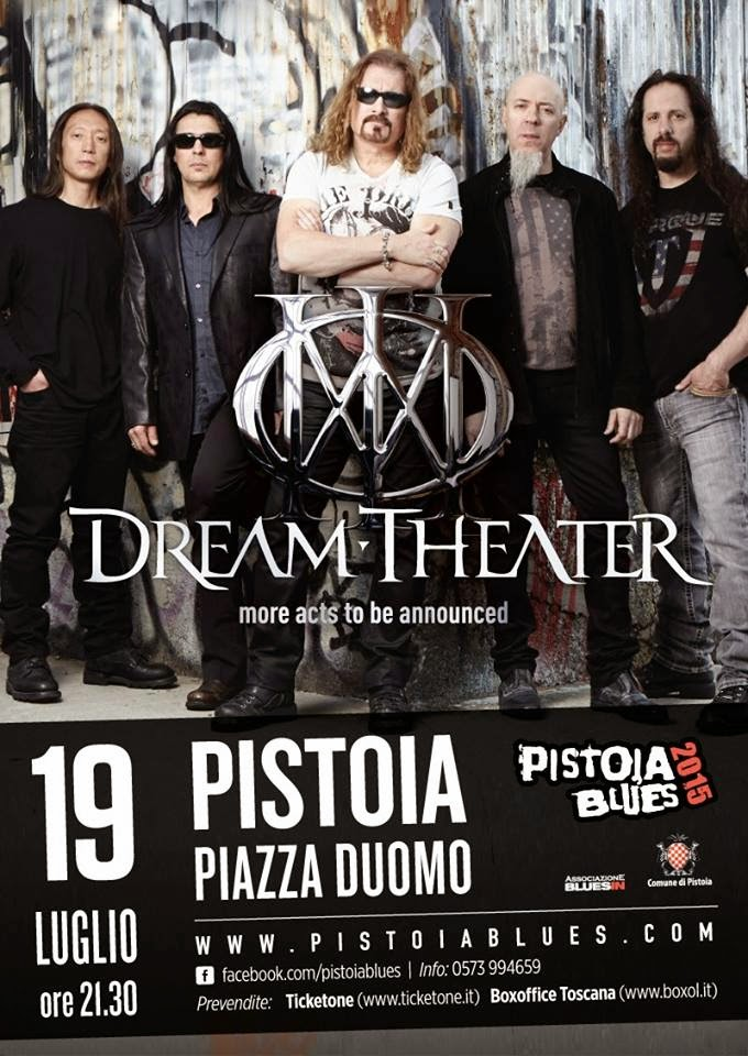 dream theater - pistoia - italia