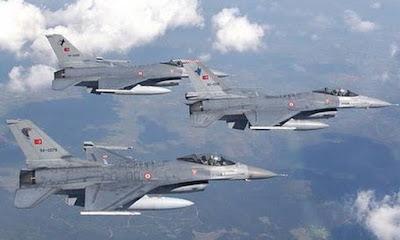 Σε 42 παραβιάσεις του ΕΕΧ προχώρησαν τουρκικά αεροσκάφη