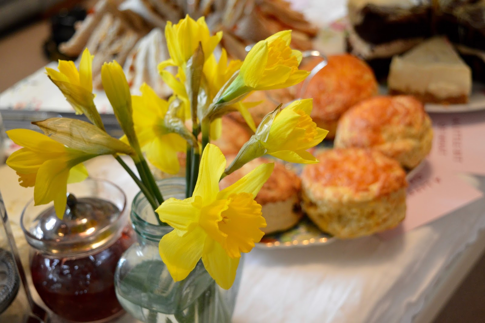 Afternoon Tea delivered in Newcastle with Mrs Dellows Delights - homemade scones