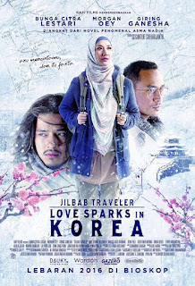Download Film Jilbab Traveler Love Sparks in Korea 2016 WEB-Dl