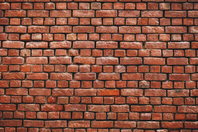 texture muro di mattoni rossi