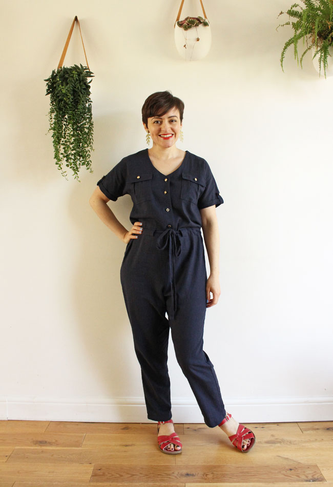 Tilly's Nautical Chic Alexa Jumpsuit - sewing pattern by Tilly and the Buttons
