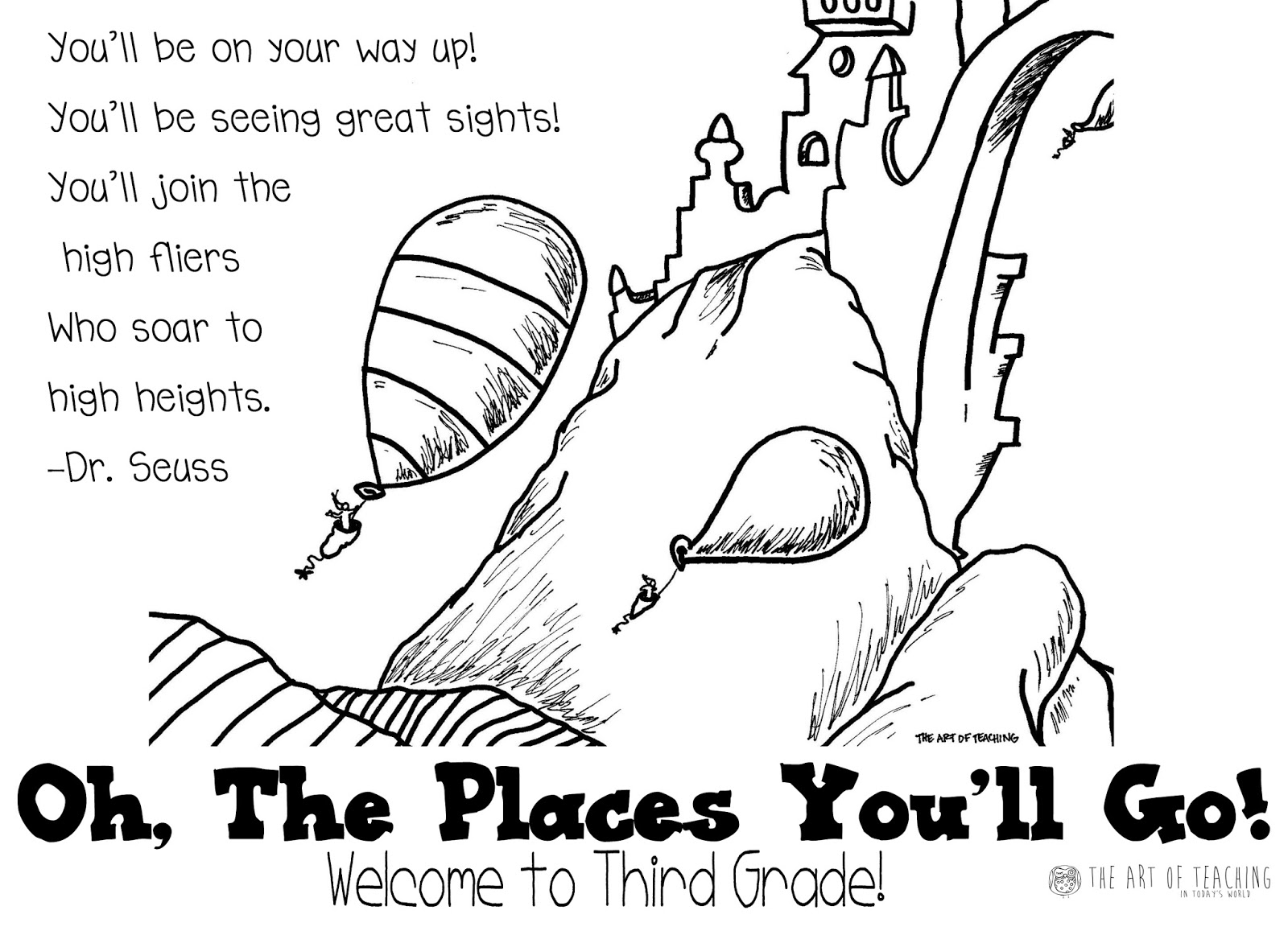The Art Of Teaching In Today S World Back To School Welcome Postcard K 6th Grades Free