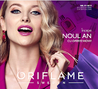 Oriflame catalog № 1 2019