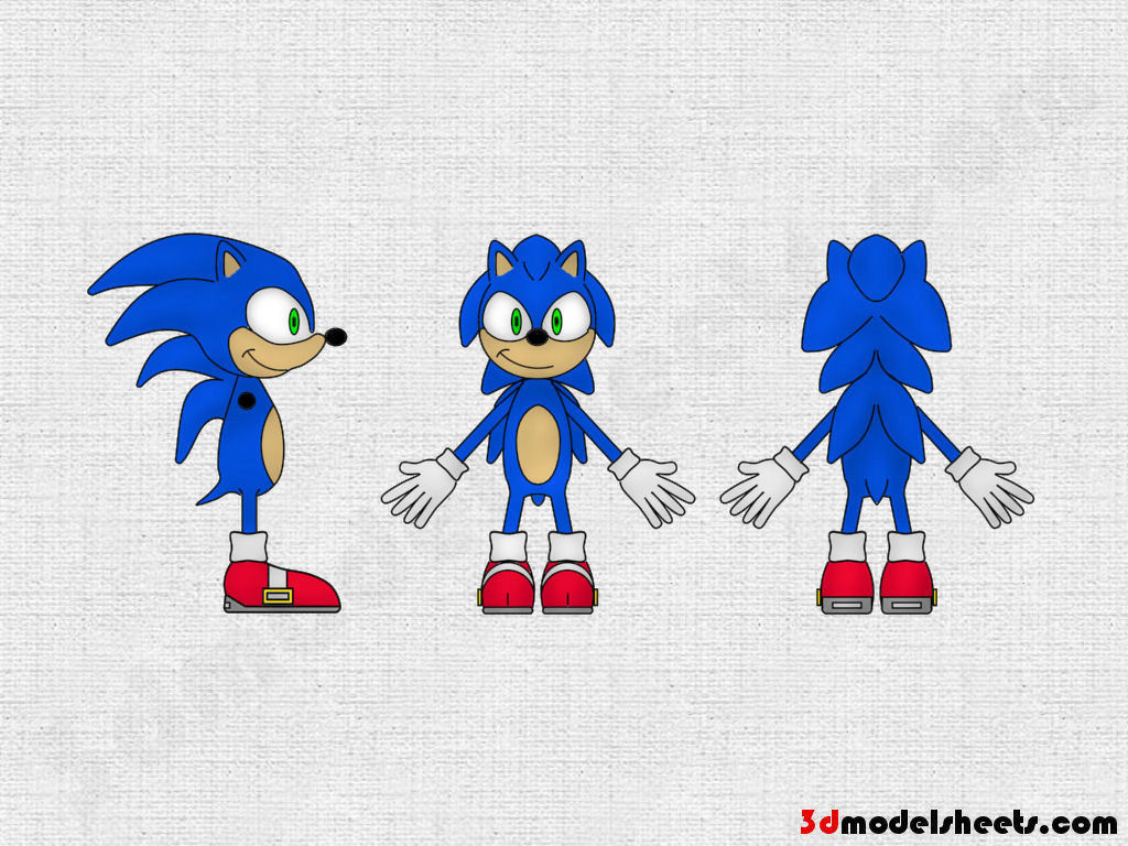 High Resolution Textures Free Animal Blueprints Model Sheets