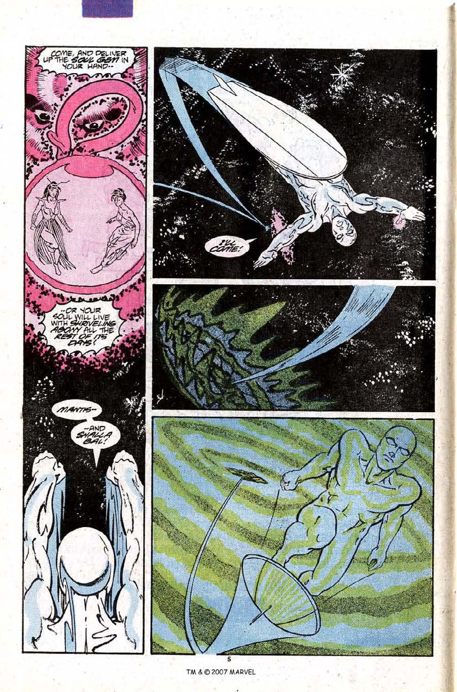 Read online Silver Surfer (1987) comic -  Issue #9 - 8