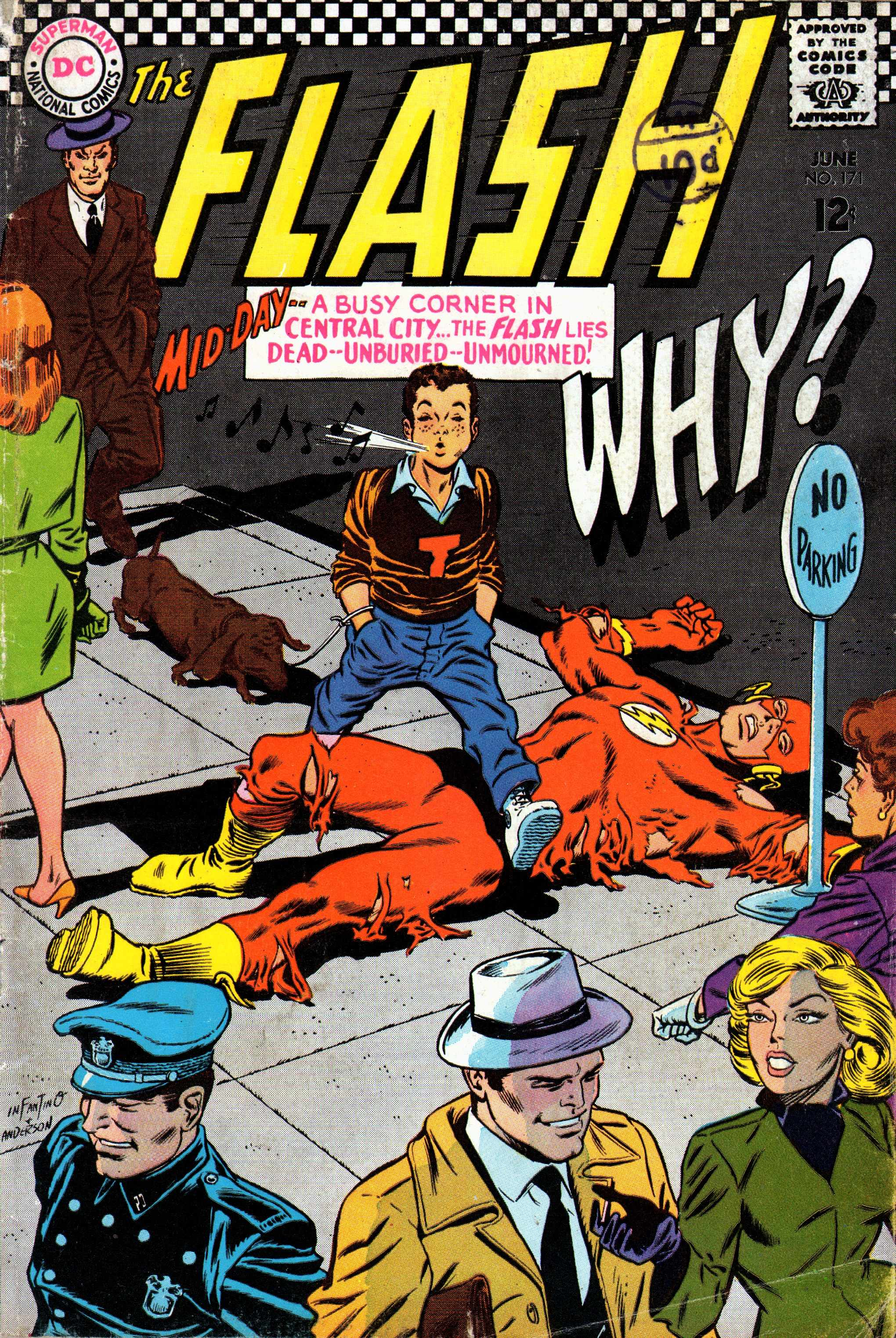 The Flash (1959) 171 Page 1