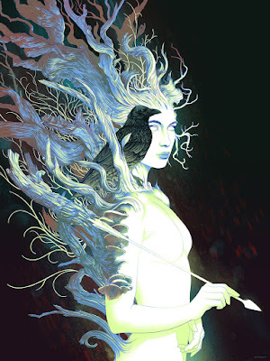 San Diego Comic-Con 2017 Exclusive Tithorea Screen Print by Kevin Tong