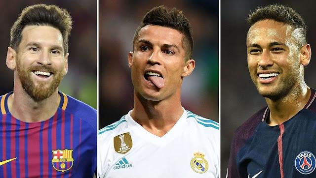 Messi Ronaldo Neymar PSG