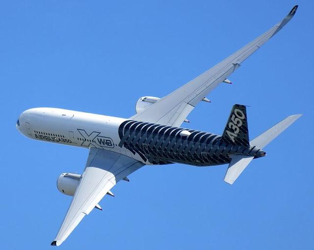Gambar Pesawat Airbus A350 07