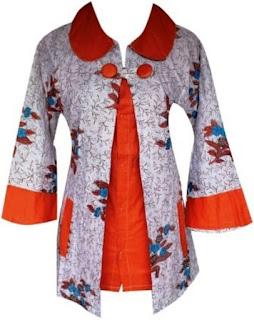 Baju Batik Guru Model Baru
