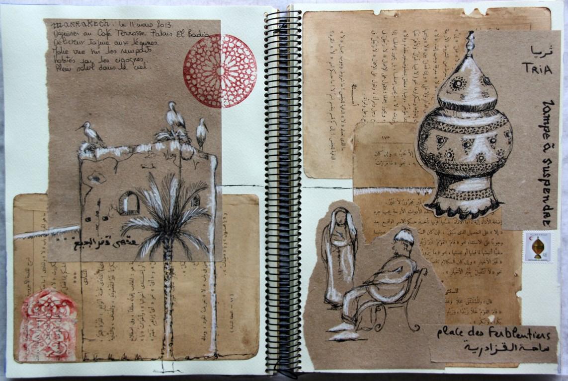 farf 39 art portraits carnets de voyage carnet de voyage. Black Bedroom Furniture Sets. Home Design Ideas