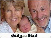 UK's oldest mum speaks of joy
