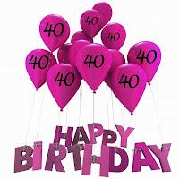 40 jaar verjaardag gelukwensen Verjaardagswensen 40 Jarige   ARCHIDEV 40 jaar verjaardag gelukwensen