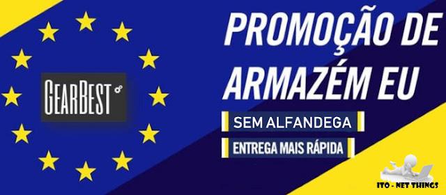 promoção armazém europeu gearbest