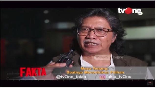 Beri Pesan ke Jokowi dan Prabowo di Pilpres 2019, Cak Nun: Berpikir Indonesia, Bukan Menang Kalah