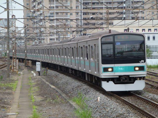 東京メトロ千代田線 我孫子行き6 JR東日本209系1000番台