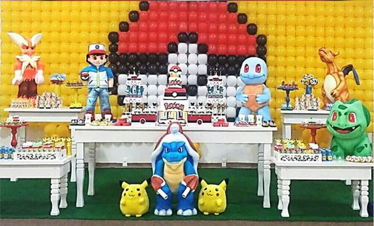 Decoracion Fiesta Pokemon