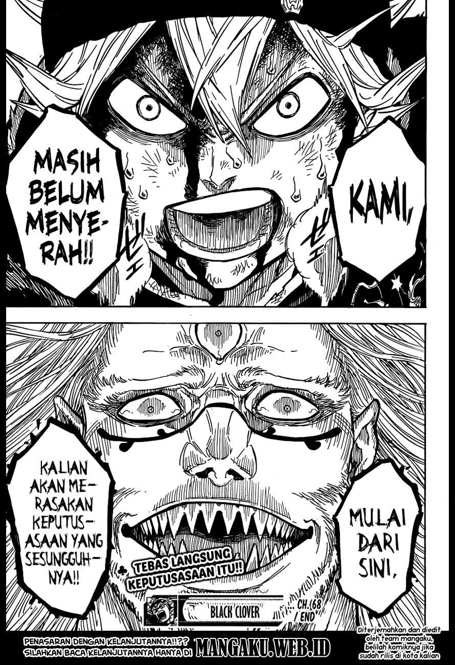 Baca Manga Black Clover Chapter 68 Bahasa Indonesia