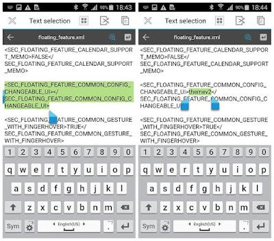 Merubah Tema Galaxy S5 Seperti Galaxy S6