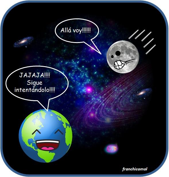 Franchicomol por qu la luna no cae sobre la tierra for Que luna hay esta noche