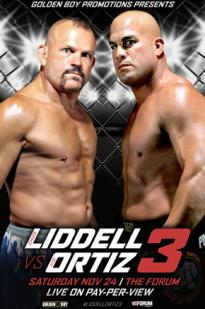 Watch Golden Boy Promotions Liddell vs. Ortiz 3 Online Free 2018 Putlocker