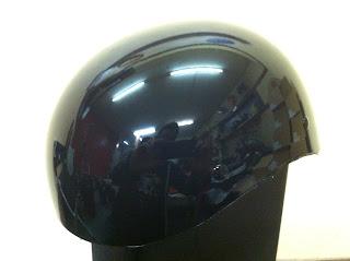 1261778905 - カスタムペイント工程  ダックテールヘルメット 仏フレイムス