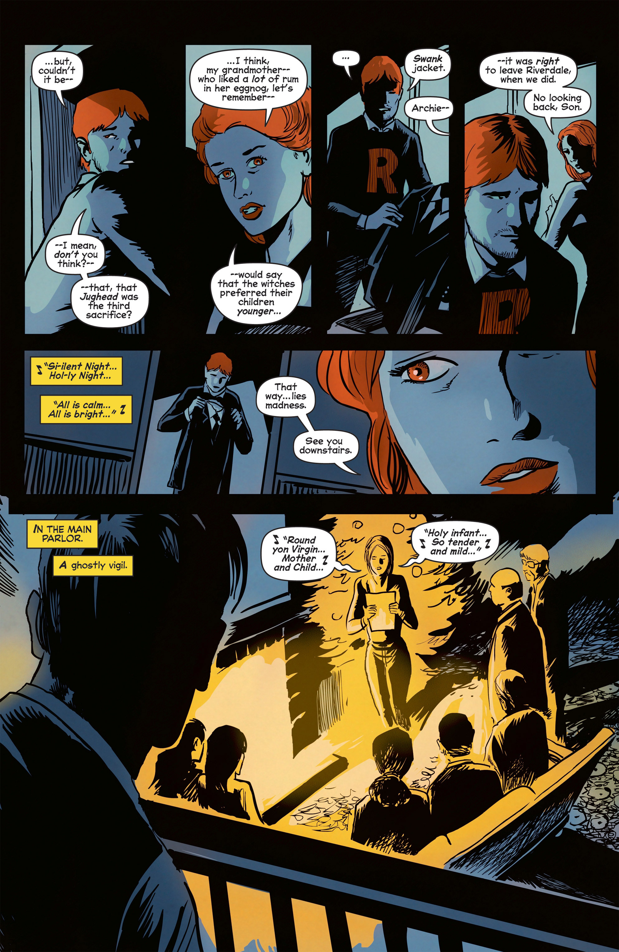 Read online Afterlife with Archie comic -  Issue #8 - 24