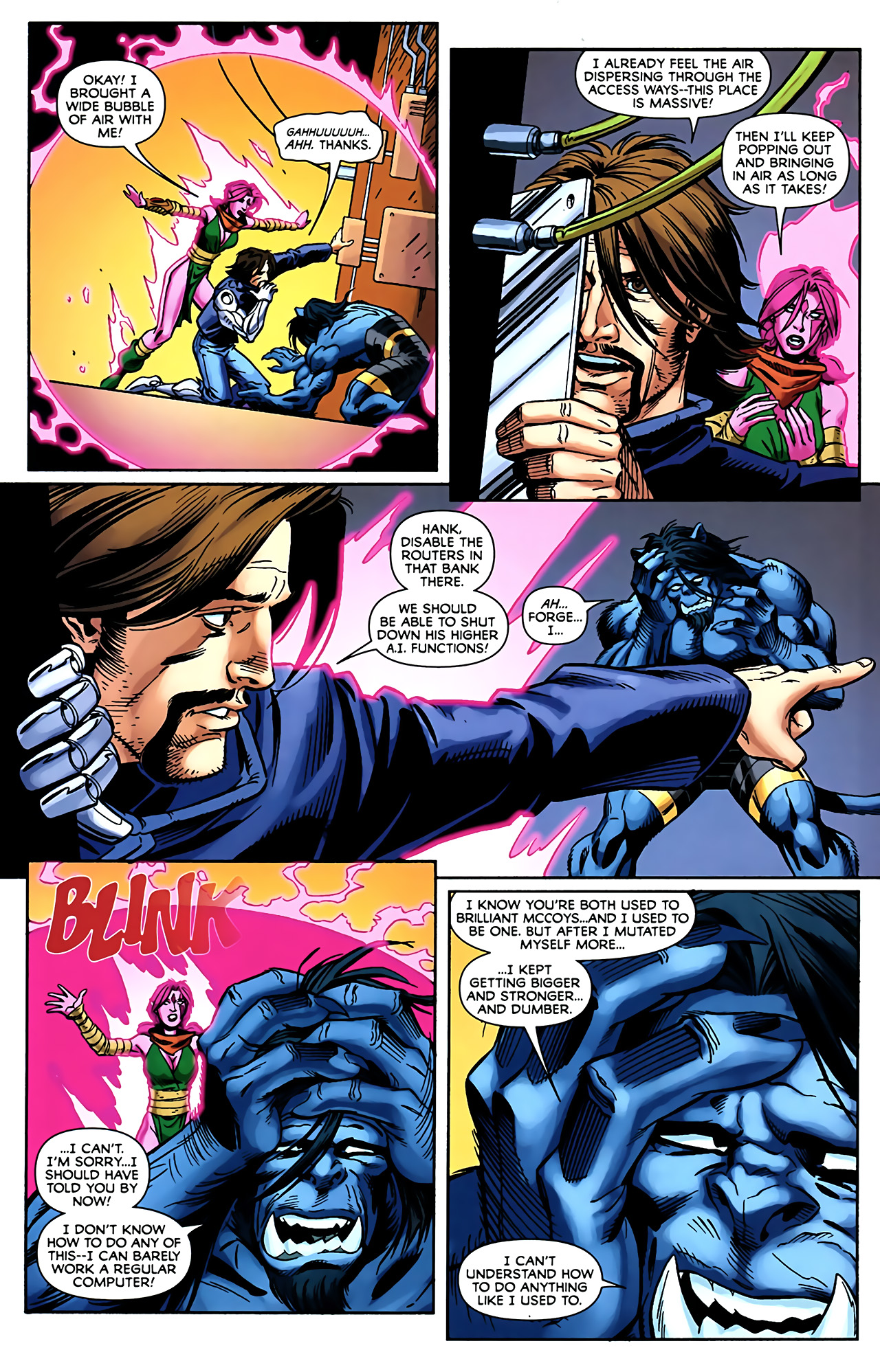 Read online Exiles (2009) comic -  Issue #5 - 16