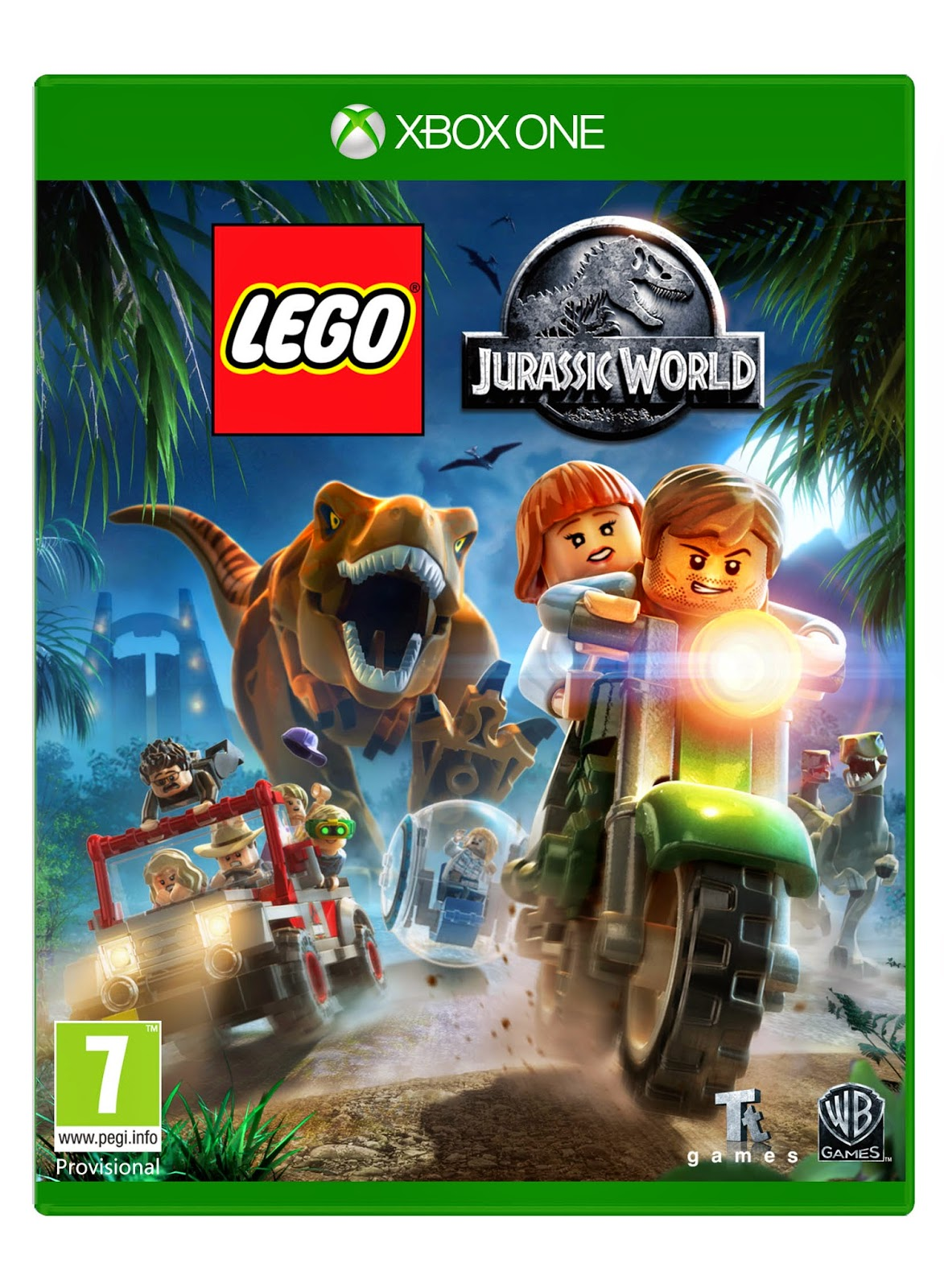 jurassic world game xbox 360
