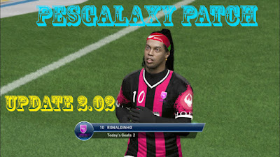 Update Patch PES 2017 dari PES Galaxy 2.02 Unofficial