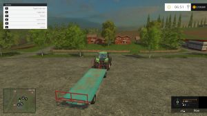 Round and square bale trailers