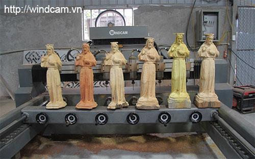 máy đục tượng gỗ 4d