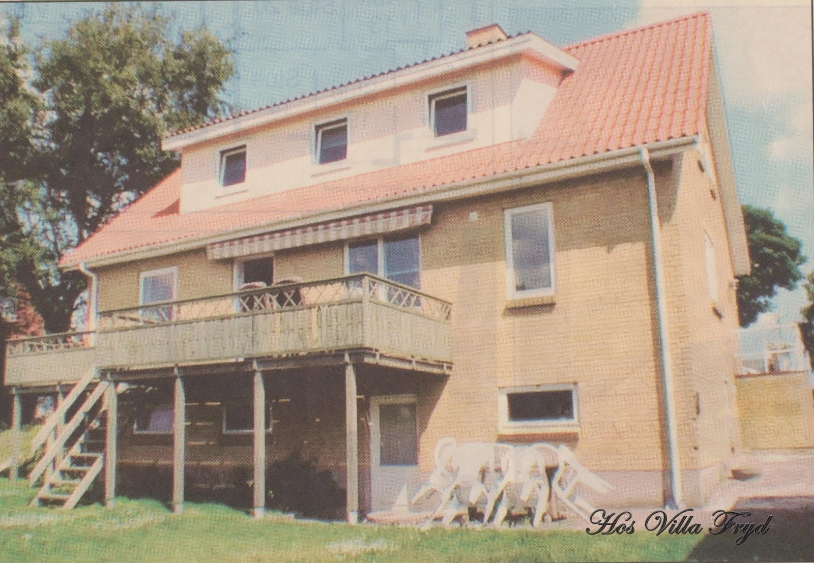 Hos Villa Fryd: Sprossede vinduer