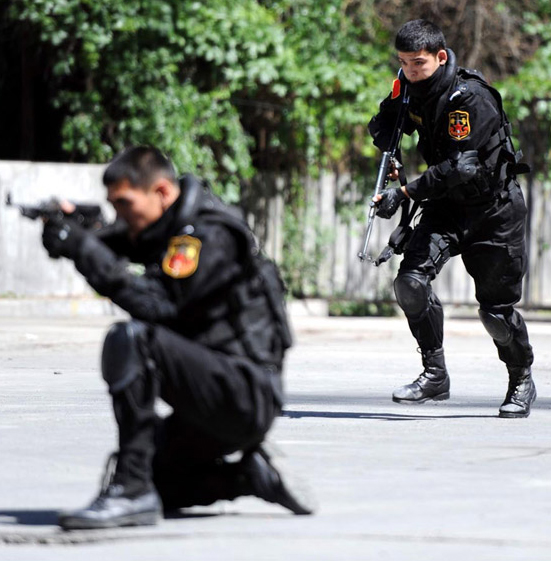 China Police: Open Day Held By People's Armed Police Force (CAPF