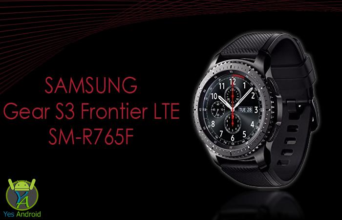 Samsung Gear S3 Frontier LTE SM-R765F Full Specs Datatsheet