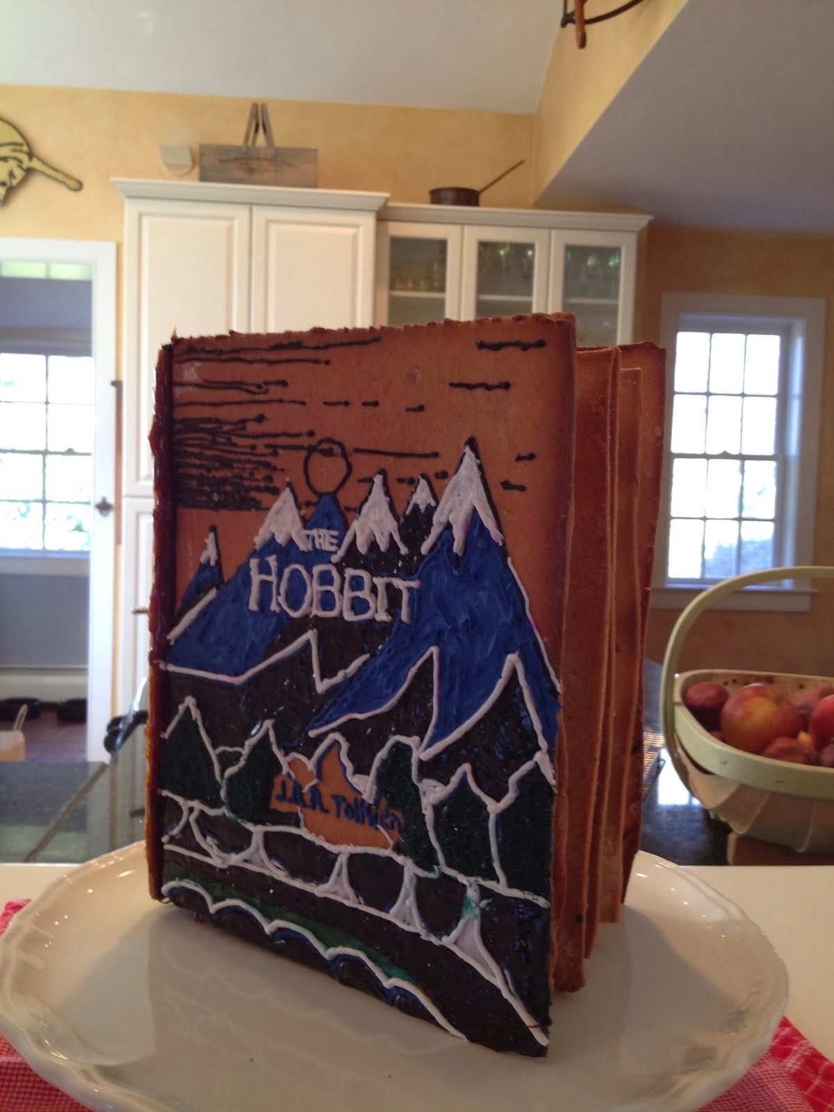 The Hobbit (Original Cover) in Gingerbread