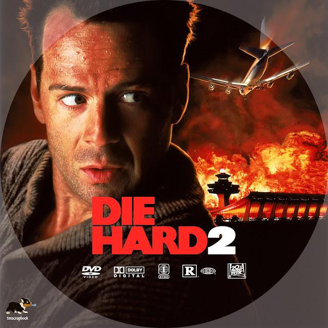 Die Hard 2 DVD Label