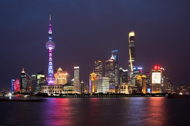 Shanghai, Šanghaj, Bund, Pudong, china, čína