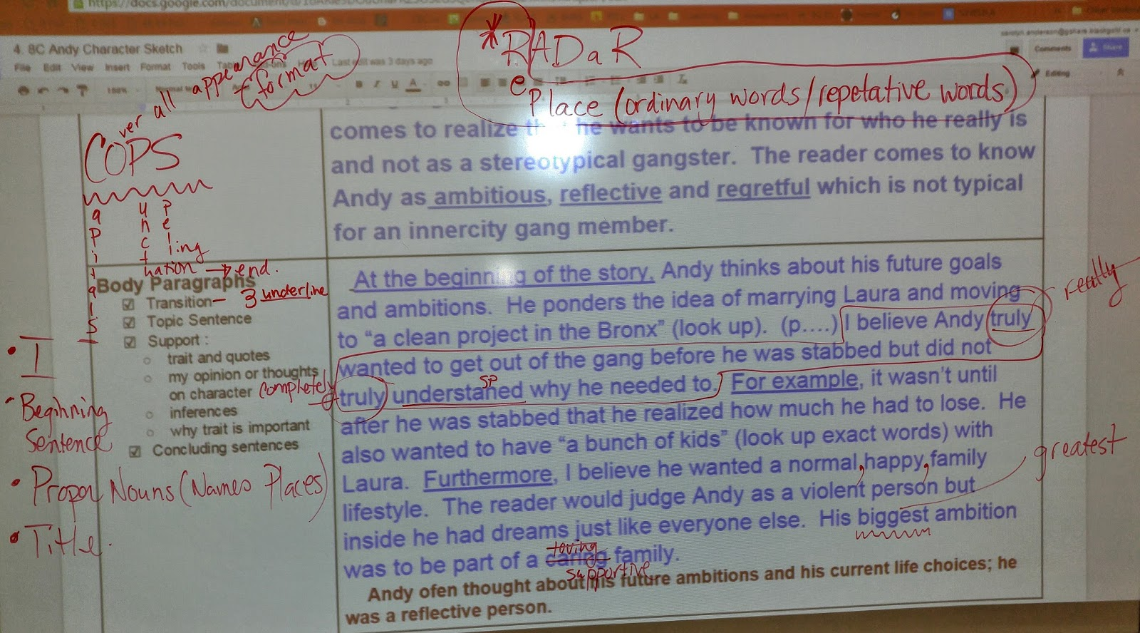 mrs anderson s class info gr 8 the outsiders what information from the movie can i add to my essay