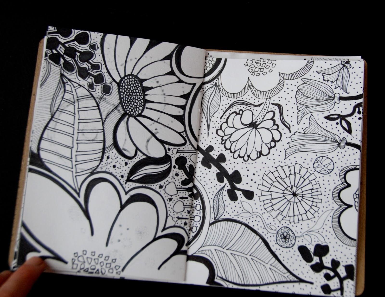 Art Sketchbook Cover Designs