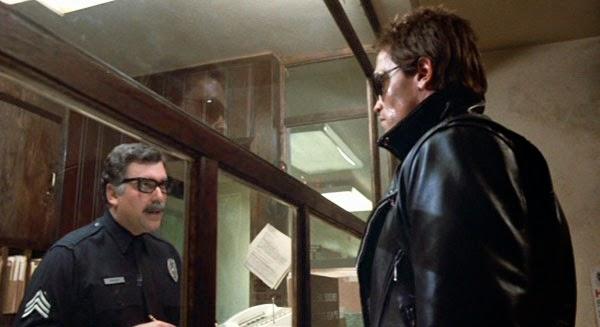 Arnold Schwarzenegger The Terminator police scene I'll Be Back
