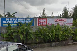 Pintu Pasar Terapung Bandung