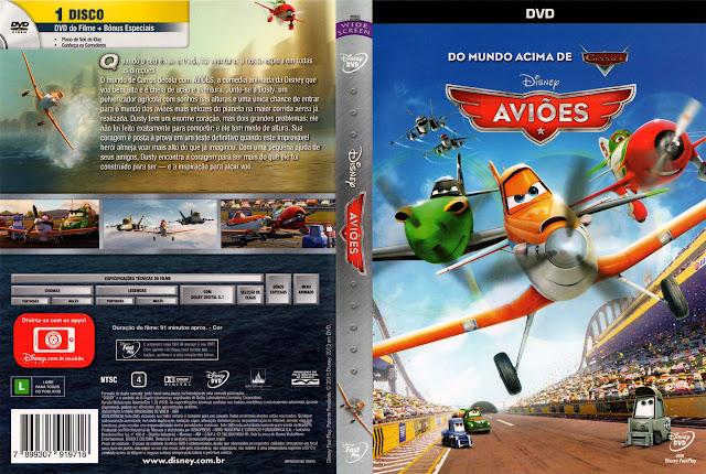 Capa DVD AVIÕES