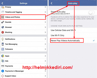 Cara Mematikan Autoplay Video diFacebook2