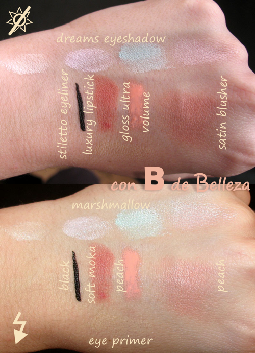 Swatches Cazcarra