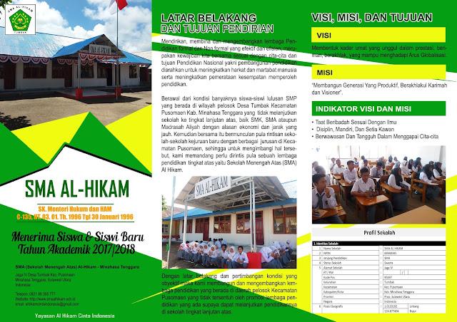 Penerimaan Siswa-siswi Baru SMA Al Hikam