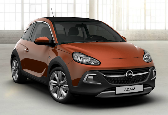 opel adam orange